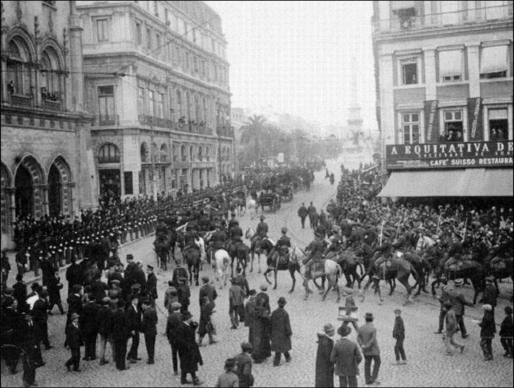 Chegada_s_Lisboa_de_Bernardino_Machado_1916