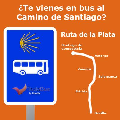 Autobús camino de santiago