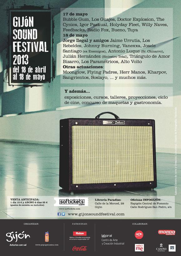 gijon sound festival 2013