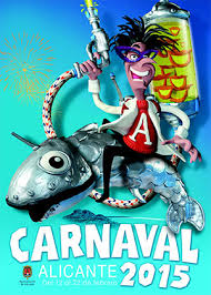 cartel carnaval de alicante 2015