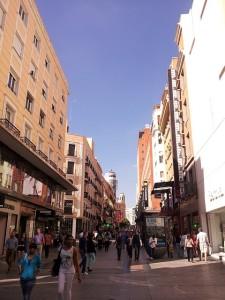 calle preciados compras en madrid