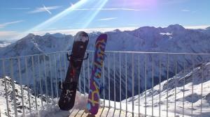 snow tablas