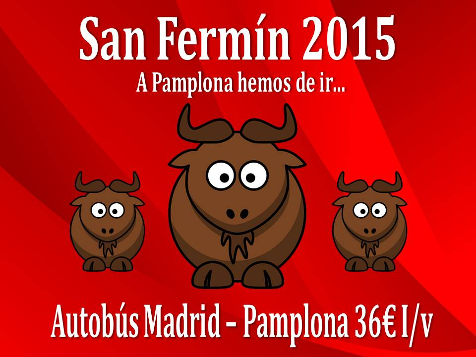 OFERTA San Fermin 2015