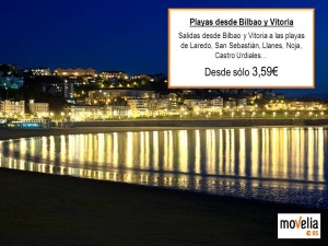 Playas desdes Bilbao y Vitoria Oferta