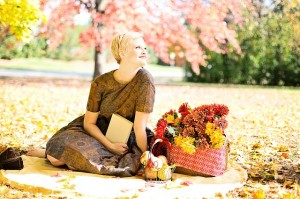 otoño buena temperatura