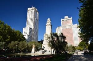 plaza de españa madrid septiembre