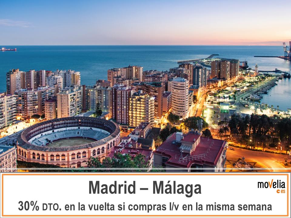 Autobus Madrid Malaga descuento