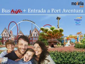 bus + entrada a port aventura