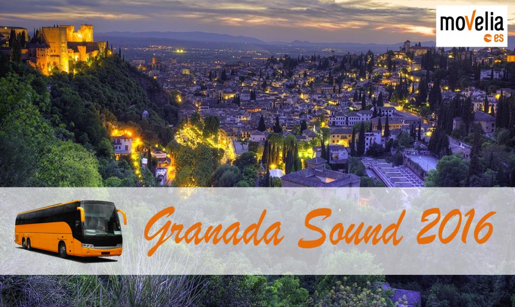 Autobus Granada Sound 2016