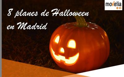 8 planes Halloween Madrid