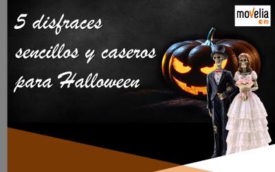 5 Disfrazes sencillos y caseros para Halloween