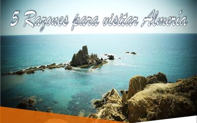 Portada 5 razones visitar almeria