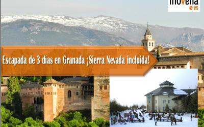 Escapada 3 dias Granada y Sierra Nevada
