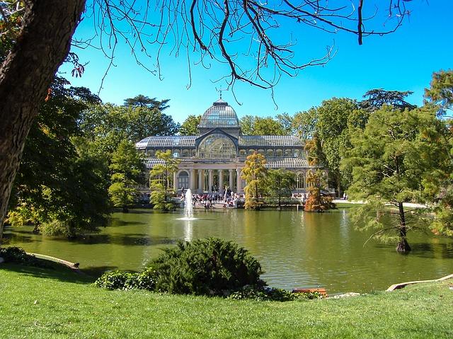 Madrid, Parque del Retiro, Palacio de Cristal