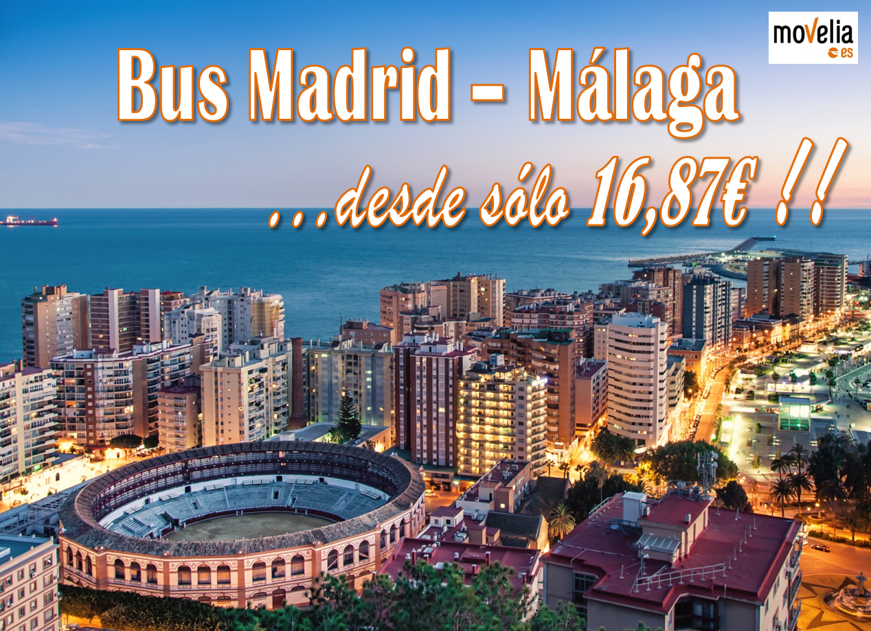 Banner Madrid Malaga 16,87€