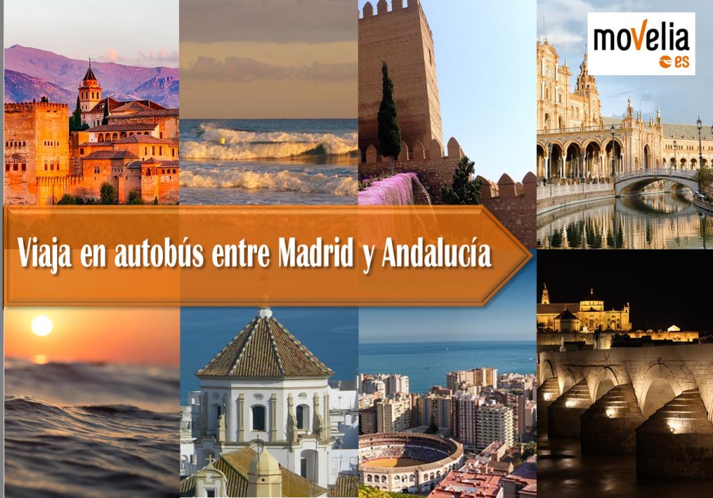 Viajar en autobus entre Madrid y Andalucia