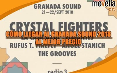 Granada Sound 2018 como llegar