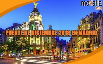 Puente de Diciembre 2018 en Madrid