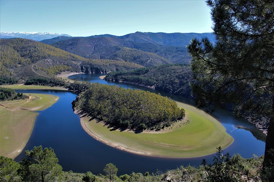 Cáceres: Meandro de Melero